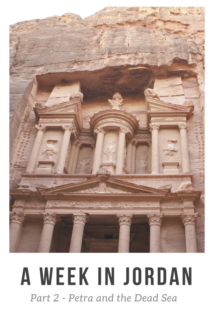 A week in Jordan Petra and the Dead Sea
