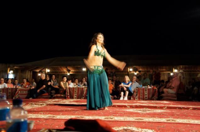 Dubai Desert Safari belly dancer