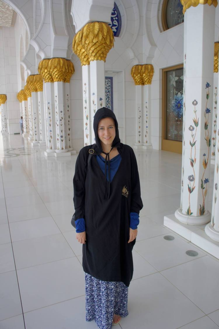 Claire Imaginarium at Abu Dhabi Sheikh Zayed Grand Mosque