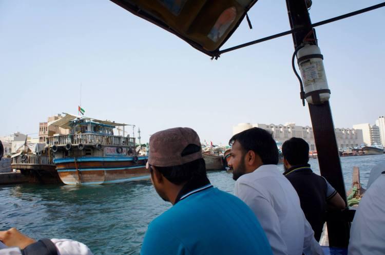 Old Dubai Deira boat