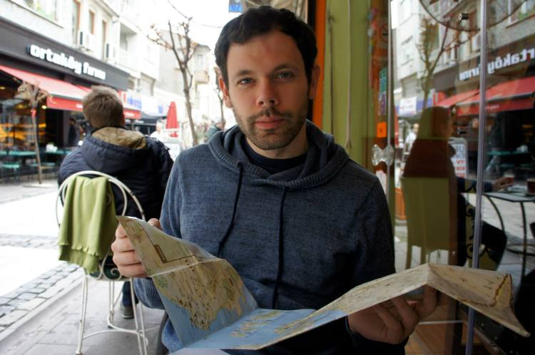 Claire Imaginarium at Ortaköy Cafe Kahvalti