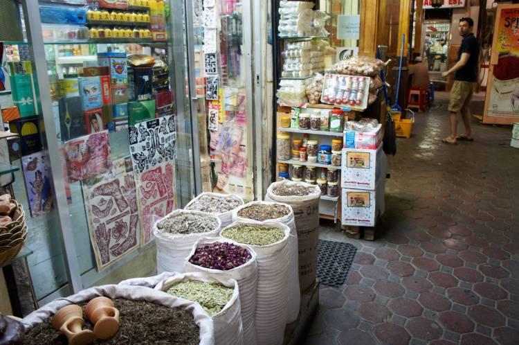 Old Dubai Deira spice bazaar