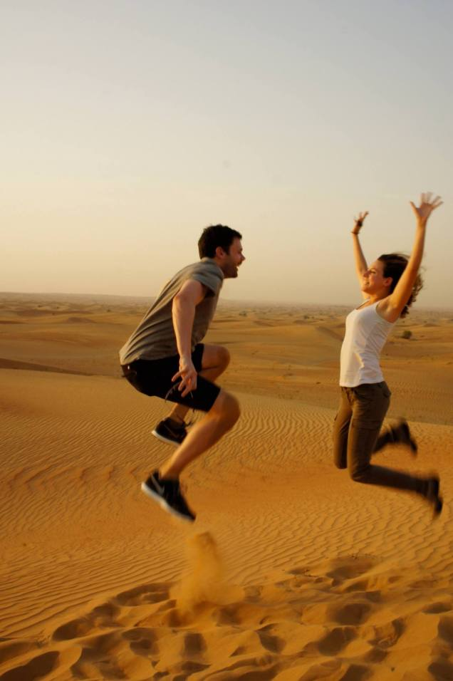 Claire Imaginarium Dubai Desert Safari