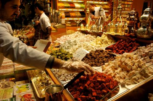 Istanbul Turkish delights