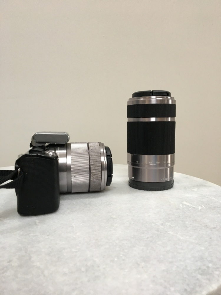 Sony Nex 5 lenses