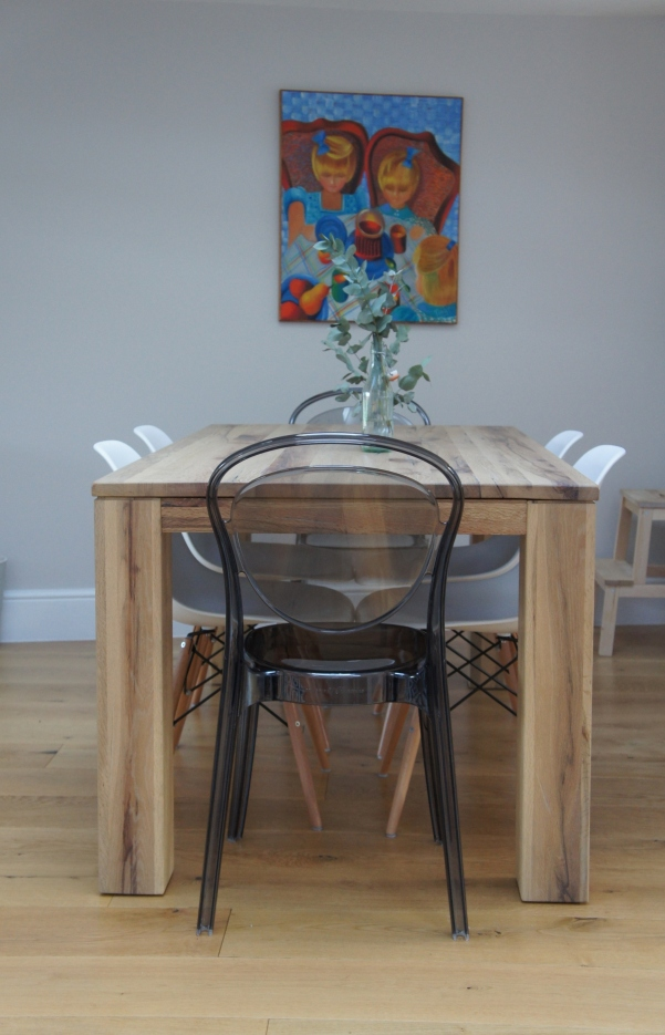 dining room after interior design