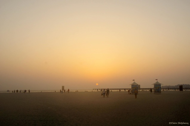dubai-beach-sunset