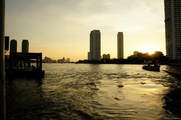 Sunset Bangkok Thailand