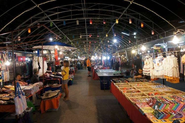 Night bazaar Chiang Mai Thailand