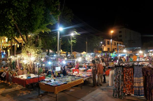 Night bazaar Chiang Mai