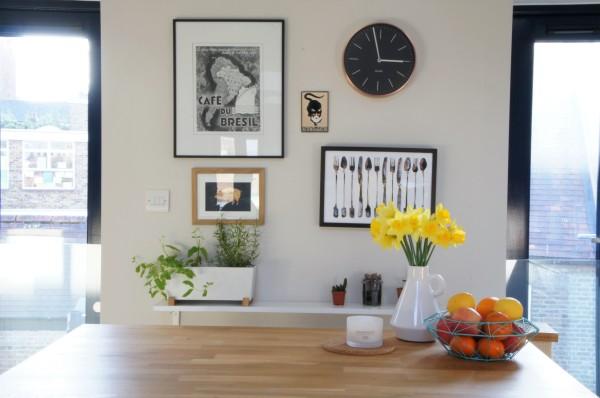Kitchen gallery wall – Reveal – Claire Imaginarium