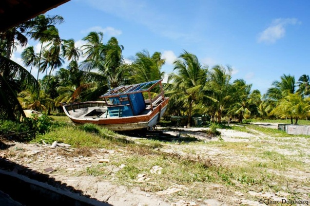 Brazil-beach-boat