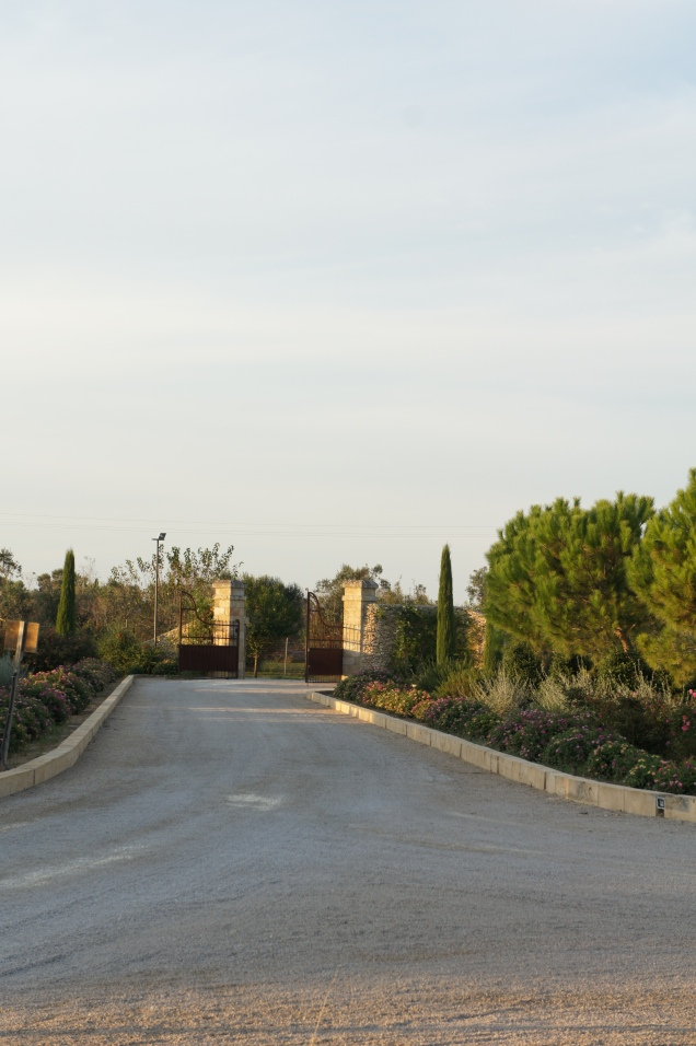 Gates of Tenuta Yala Puglia
