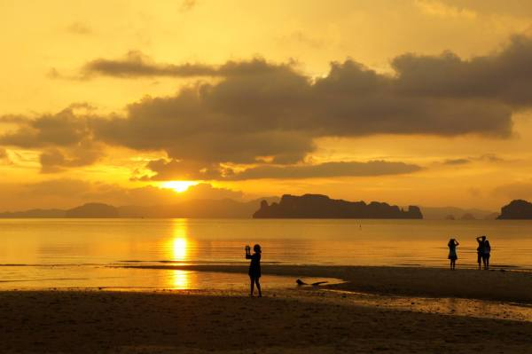 Sunset Thailand Krabi