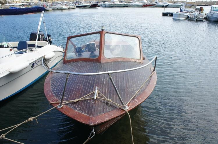 Boat in Leuca