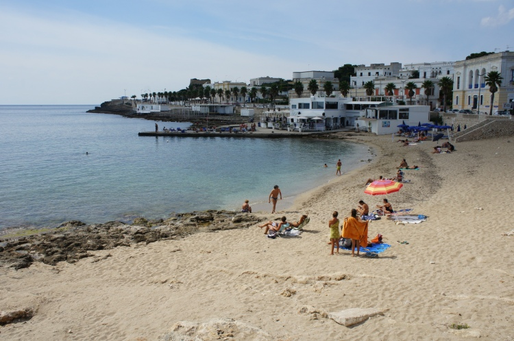 Leuca beach