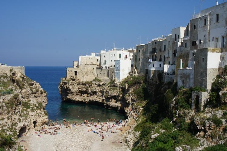 Polignano A Mare beach