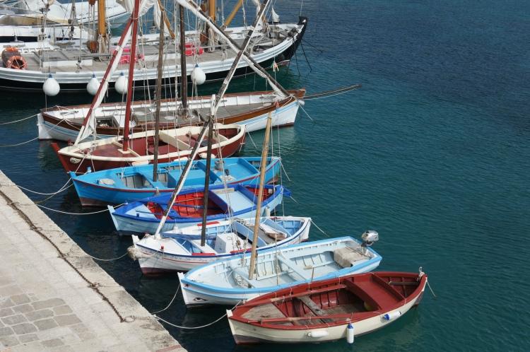 Tricase Porto boats