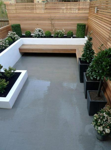 Outdoor courtyard and garden inspiration