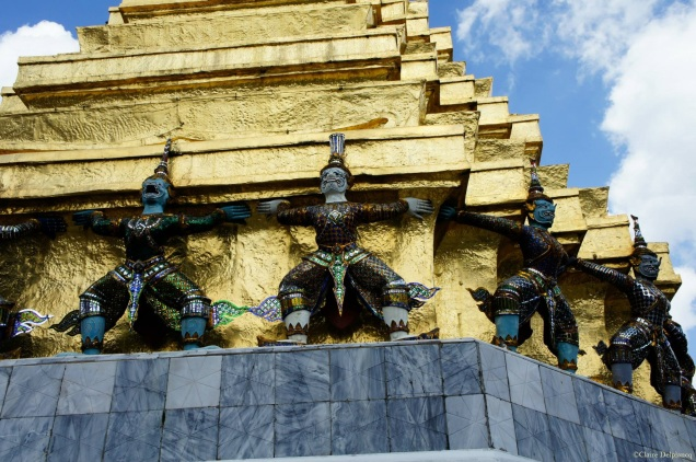 Thailand-Bangkok-Temple-gold