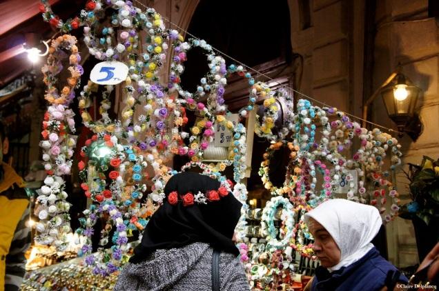Turkey-Istanbul-flower-crown