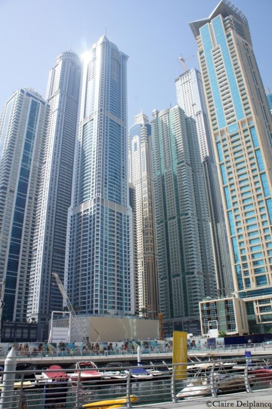 Dubai-Marina-skyscrapers