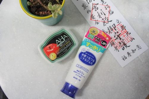 Japanese AHA skincare