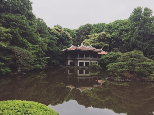 Tokyo tea house