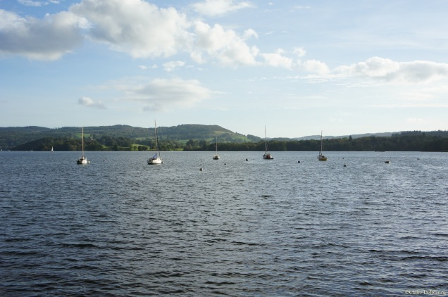 Lake District sailing boat
