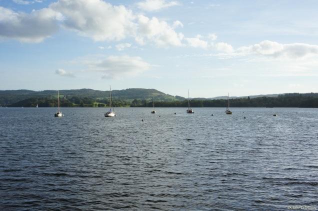 Lake District sailing boat