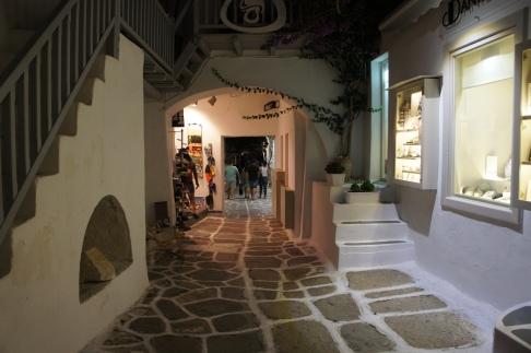 Paros Naoussa street