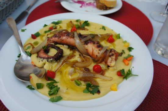 Greek food Fava
