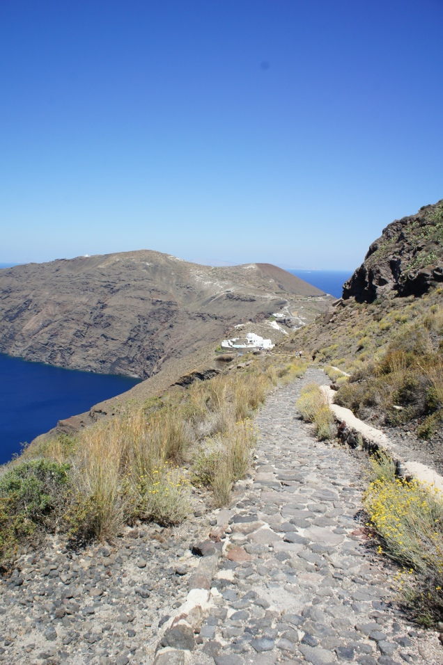 Santorini Oia hike