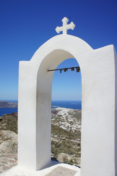 Santorini Oia hike Church of Panagia