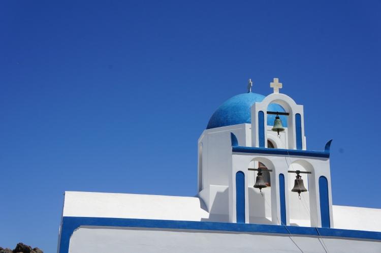 Santorini Oia hike Ekklisia Profitis Ilias