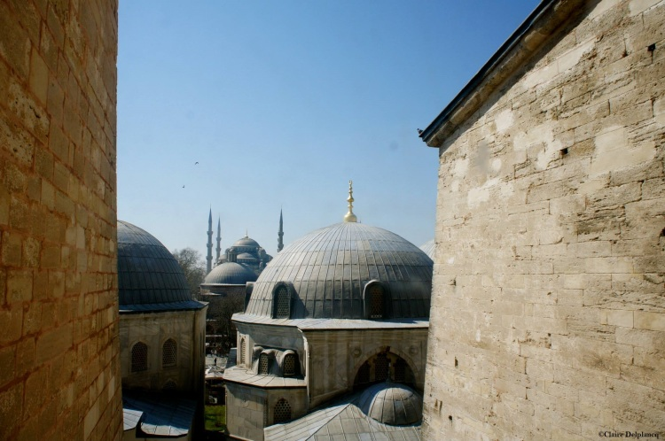 Istanbul-Hagia-Sophia-roofs
