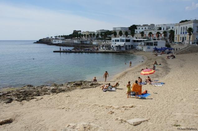 Italy PUglia Leuca beach
