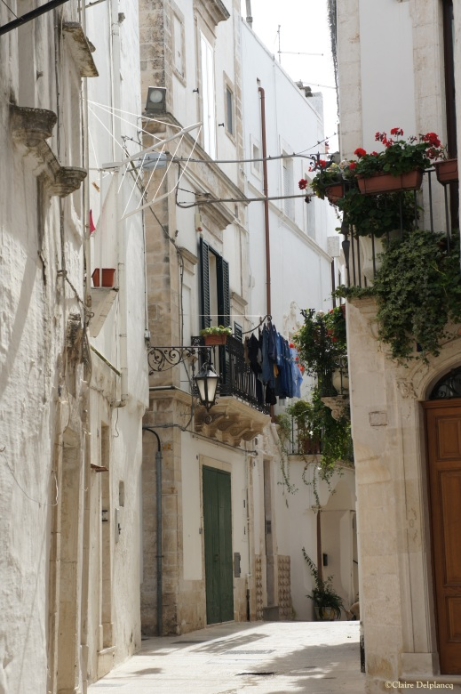 Italy Puglia Martina Franca street