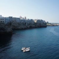 Floating by Polignano A Mare