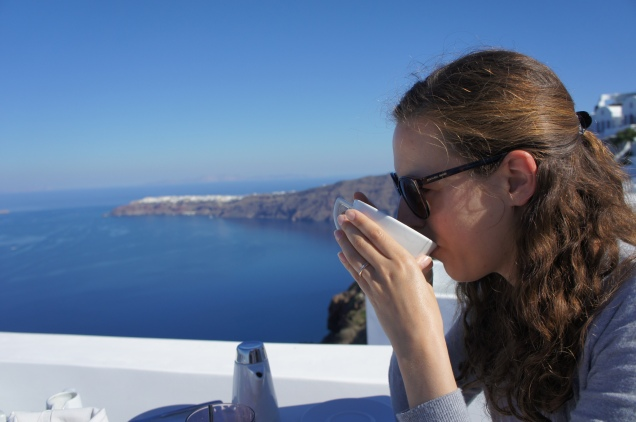 Breakfast at Grace Hotel Santorini