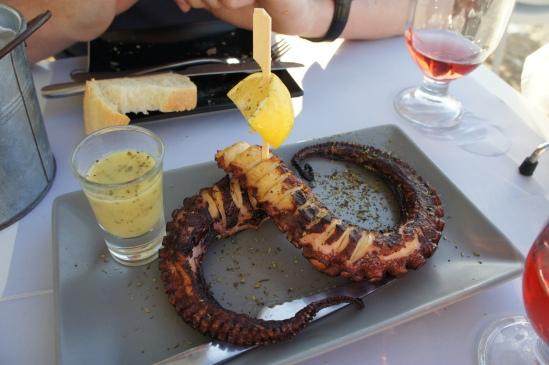 Glafkos Taverna octopus