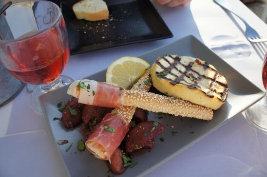 Glafkos Taverna saganaki