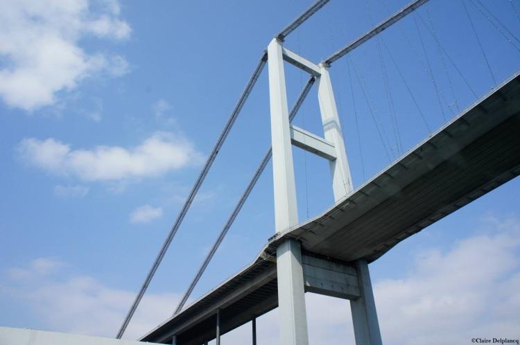 Istanbul bridge architecture