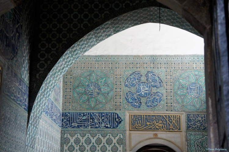 Istanbul palace tiles