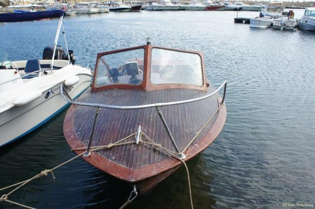 Boat in Leuca Puglia