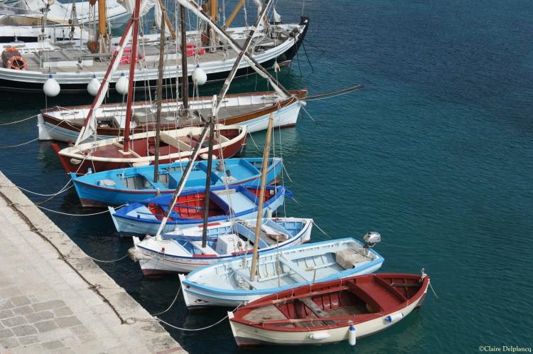 boats in Tricase Porto