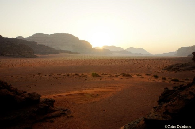 Wadi Rum sunrise Jordan