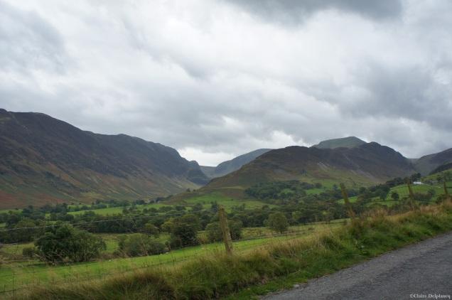 Lake District Cumbria road trip view