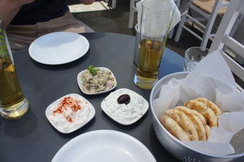 Melitini restaurant Oia Santorini