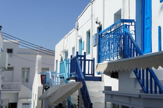 Balconies Mykonos Town